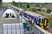 Scottish Borders Railway Opening Ceremony with Instant Marquees i-Domes