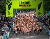 Instant Marquees works with Limelight Sports to Deliver Nike Womens 10km run in London
