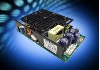 """High efficiency 3"""" x 5"""" medical power supply delivers 250W"""