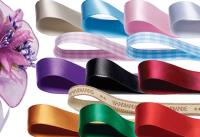 NEW! Double Faced Satin and Patterned Ribbons