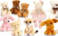 New Range! Supersoft Pippins, Oscar and Finlay Bears