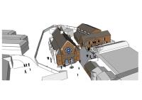 Rebuild of the URC Hall into the Mead Centre.