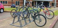 How to encourage sustainable transport: bicycle racks