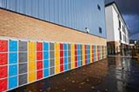 Inspire your students with bike storage and exterior lockers