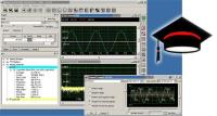 Free software educational tool for signal processing & instrumentation