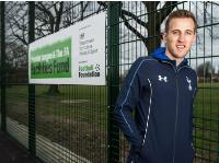 Childhood football home for England heroes young & old gets new pitch