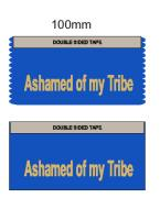 Ashamed of My Tribe Conference Ribbons