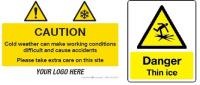 Get 10% off winter safety signage this December