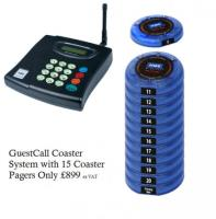 Coaster Customer Pager System Only £899.00