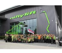 Niftylift Salutes Our Forces Staff from Niftylift show their support for 'Armed Forces Day'
