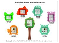 Jtech Street Scene makes Notices Fun for Kids