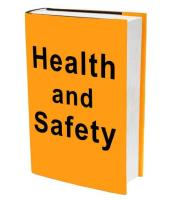 What are the benefits of online health and safety assessments and training compared to providing them face to face?