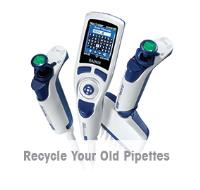 Trade up Your Old Pipettes Now and Save 57% on New Rainin XLS+ Pipettes - PLUS Get a FREE Pipette Tree Hanger!