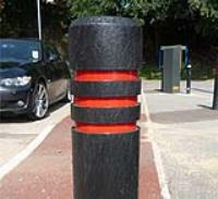 AUTOPA Chamfered Top Recycled Plastic Bollard