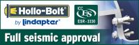 Hollo-Bolt achieves full seismic approval