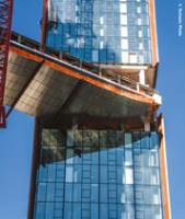 Type AAF clamp specified for Sky-Pool structure