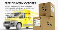 Wrights GPX announce free delivery offer