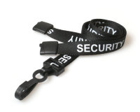 Pre Printed Lanyards - Security - now available from Stablecroft