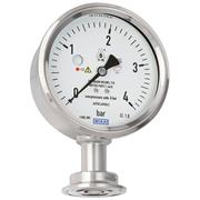 New diaphragm pressure gauge for the highest safety