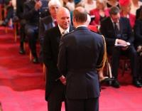 Hall-Fast Founder Receives MBE at Investiture