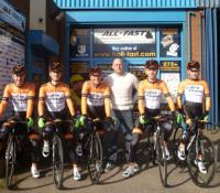 Industrial Supplies Firm's Backing for Race Team!