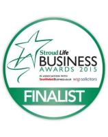 We are finalists in the Stroud Life Business Awards!