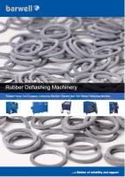 Download our new brochure and guide on rubber deflashing machines