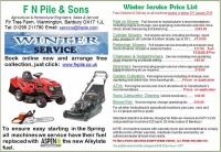 FN Pile and Sons Garden Machinery Service