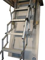 Do you need an insulated loft ladder for a small ceiling opening?