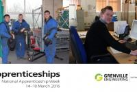 Grenville supports National Apprenticeship week 2016