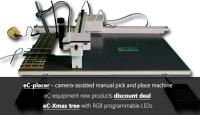 Eurocircuits Technical Update: eC-placer camera-assisted manual pick and place machine