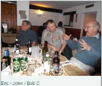 CJS staff meal held on 24th Feb 2012 at African Experience Restaurant, Gloucester