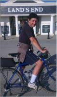 CJS Director completes End to End bicycle ride