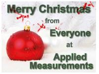 Merry Christmas from Everyone at Applied Measurements