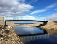 NEW FOOTBRIDGE IN SEATOWN, CULLEN REQUIRES PROTECTIVE SYSTEM FOR HARSH ENVIRONMENTS DUE TO NORTH SEA LOCATION: