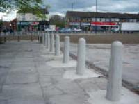 Naylor Concrete supplied Traffic Bollards to Wakefield Project
