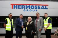 Mayor of Wigan Borough Visits Expanding Manufacturing Site in Martland Park