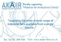 Axair Fans Proudly Support The Midlands Air Ambulance
