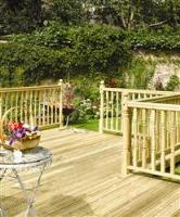 Timber Decking For Spring Landscaping Jobs