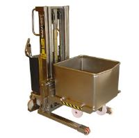 Euro Bin Lifter with Cradle Attachment