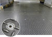 Hollo-Bolt Flush Fit was used to Strengthen a Factory Floor