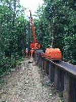 Giken GRB system installs piles at Hampstead Ponds