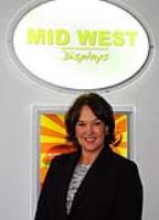 Jane stays in the frame at Mid West Displays