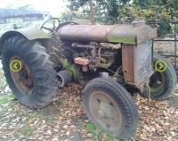 CORGIN DONATES GEAR OIL TO 1943 TRACTOR RESTORATION PROJECT