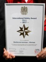 Health And Safety Award From The British Safety Council