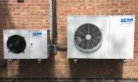 J & E Hall condensing units installed by dessert supplier