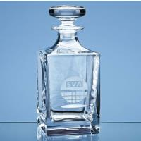 Branded Crystal Whisky Decanters