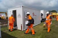 WE EXPAND OUR EASY CABIN RANGE OF WELFARE UNITS FOR THE RAIL INDUSTRY