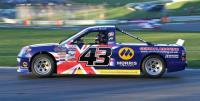 Pickup racer Wood vows to bounce back from engine failure at Brands Hatch