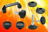 Electrostatic Discharge protective standard machine elements from Elesa